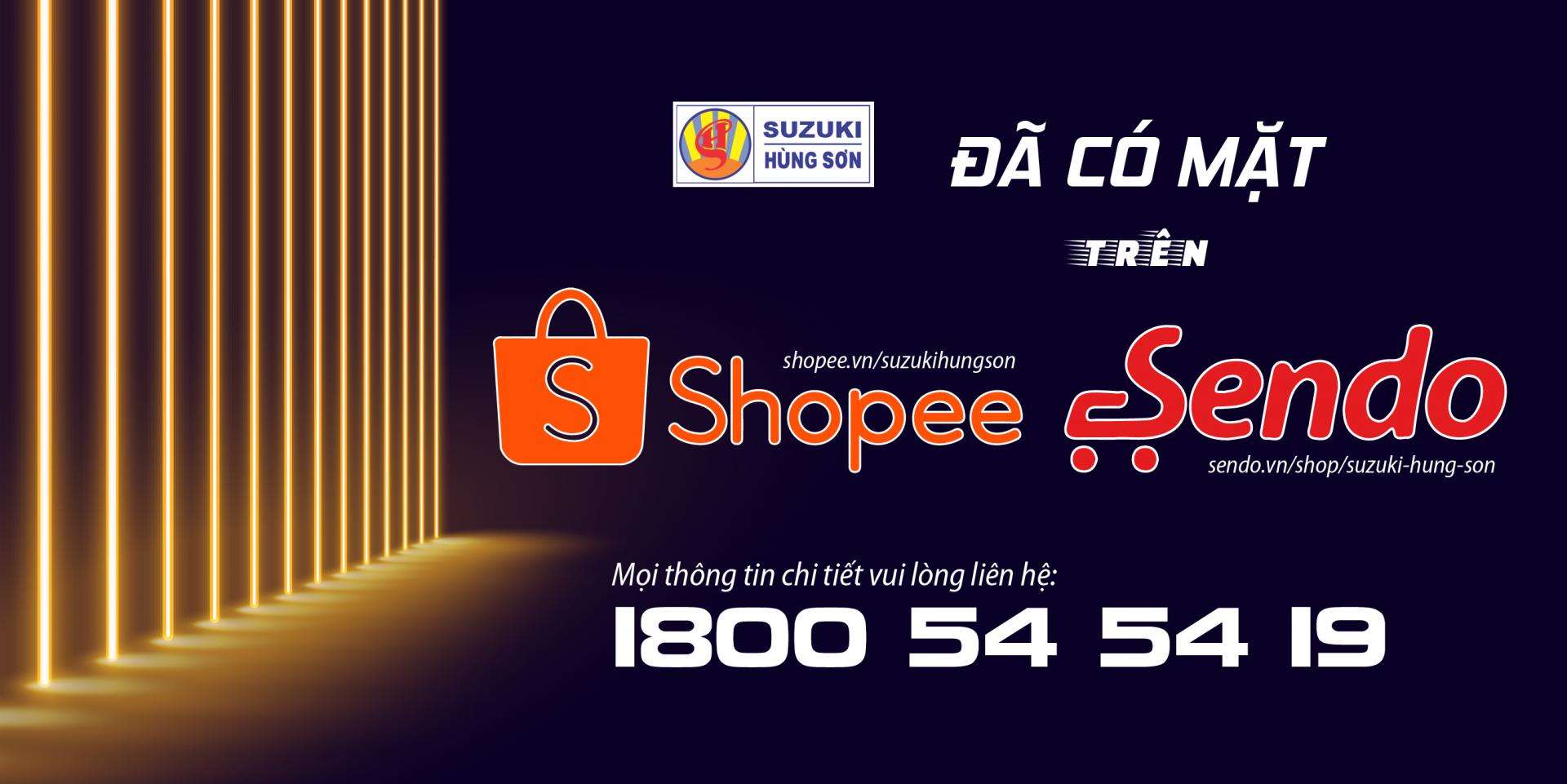 Banner web Sendo-Shopee